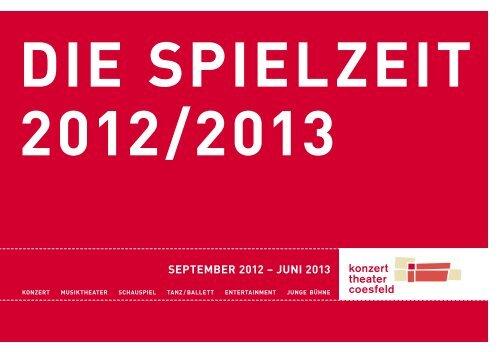 PDF Spielzeitheft 2012 / 2013 - Konzert theater coesfeld