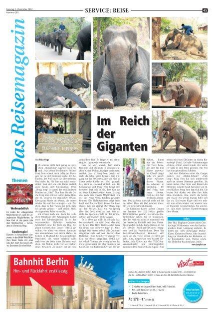 Im Reich der Giganten - Marler Zeitung