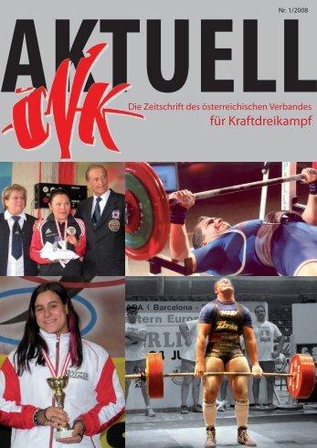 meisterschaften - Österreichischer Verband für Kraftdreikampf
