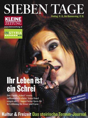 SIeben TAG - Kultur Steiermark