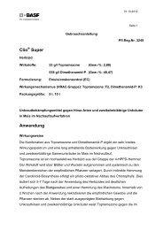 Clio Super Anwendung - BASF Pflanzenschutz Österreich