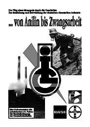 ... von Anilin bis Zwangsarbeit - Beuth Hochschule für Technik Berlin