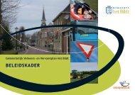 kunt u het GVVP Beleidskader downloaden. - Gemeente Het Bildt