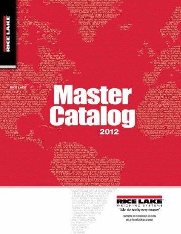 2012 Master Catalog - AMCO Instruments