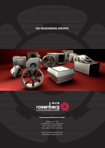 Die Rosenberg-Gruppe - Rosenberg Ventilatoren GmbH
