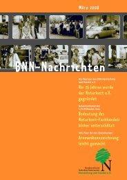 BNN-Nachrichten März 2008 - BNN Herstellung und Handel eV