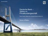 Fair Share - Deutsche Bank