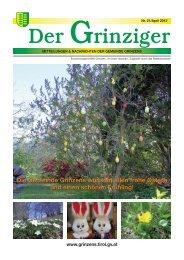 Der Grinziger Ausgabe 21 (7,24 MB) - Gemeinde Grinzens - Land Tirol