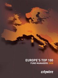europe's top 100 - Citywire