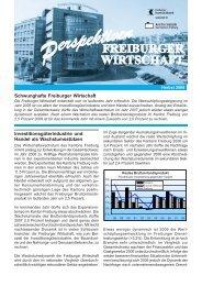 Perspektiven. Freiburger Wirtschaft. Herbst 2006