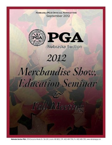 Newsletter Contents - Nebraska PGA