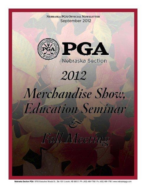 Newsletter Contents - Nebraska PGA