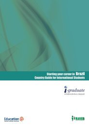Starting your career in Brazil Country Guide for International Students