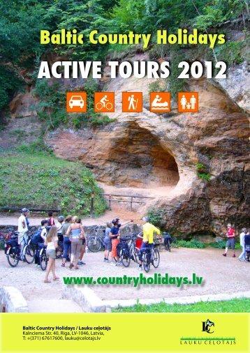 ACTIVE TOURS 2012 - Lauku Ceļotājs