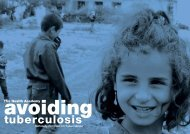 Avoiding Tuberculosis - World Health Organization