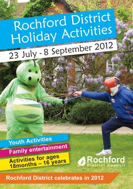 Rochford District Holiday Activities brochure - Rochford District Council