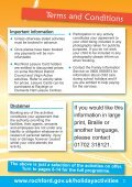 Rochford District Holiday Activities brochure - Rochford District Council - Page 3
