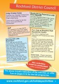Rochford District Holiday Activities brochure - Rochford District Council - Page 5