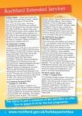 Rochford District Holiday Activities brochure - Rochford District Council - Page 6