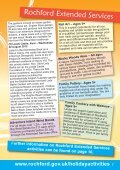Rochford District Holiday Activities brochure - Rochford District Council - Page 7