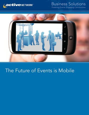 The Future of Events is Mobile - Event Management Software