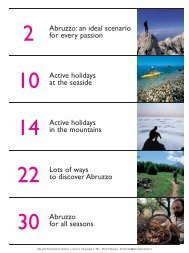 Abruzzo: an ideal scenario for every passion Active holidays at the ...