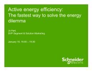 Active Energy Efficiency - Schneider Electric