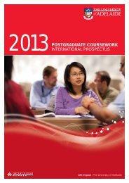 2013POSTGRADUATE COURSEWORK INTERNATIONAL ...