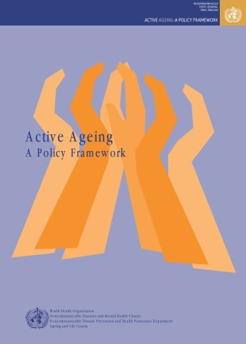 Active Ageing - libdoc.who.int - World Health Organization