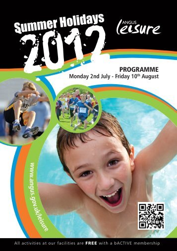 Active Angus 2012 - Summer Sports and Activities ... - Angus Council