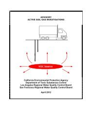 Advisory - Active Soil Gas Investigations - the Department of Toxic ...