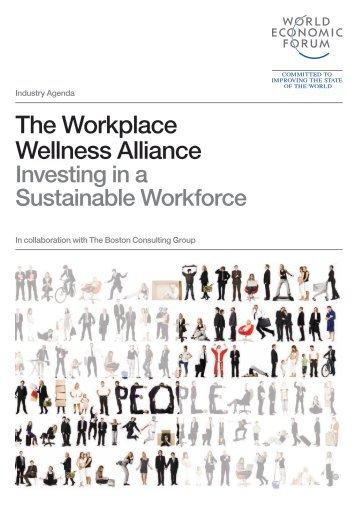 The Workplace Wellness Alliance - World Economic Forum