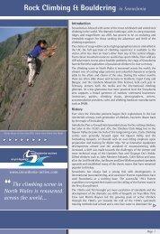 Rock Climbing & Bouldering in Snowdonia - Snowdonia-Active