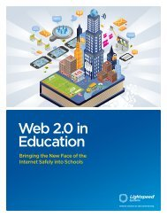 Web 2.0 in Education - Lightspeed Systems
