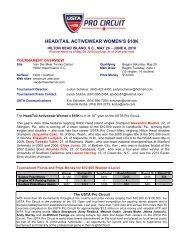 HEAD/TAIL ACTIVEWEAR WOMEN'S $10K - USTA.com