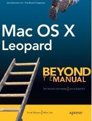 Mac OS X Leopard - ARCAism