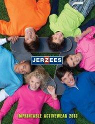 imprintable activewear 2013 - Jerzees
