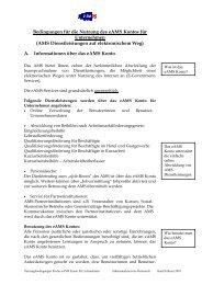 Nutzungsbedingungen Stand Februar 2010