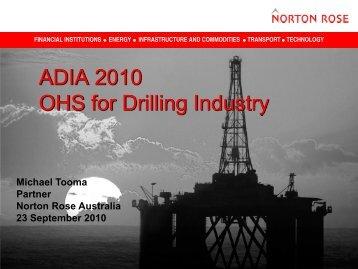Orbit Drilling Prosecution - Australian Drilling Industry Association