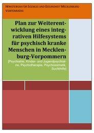 rativen Hilfesystems für psychisch kranke Menschen in ... - GPLV