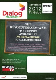 TV Programme Guide - Dialog