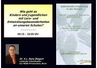 Vortrag - Landeselternrat Sachsen
