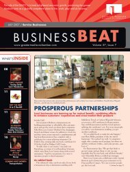 BUSINESSBEAT - Madison Magazine