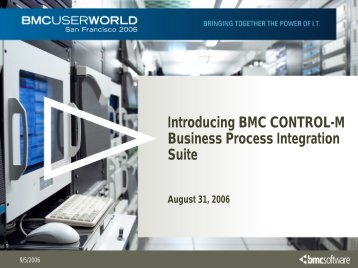 Introducing CONTROL-M Business Process Integration Suite - BMC ...
