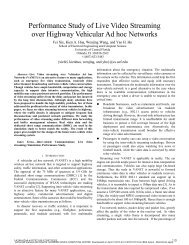 Performance Study of Live Video Streaming Over Highway ...