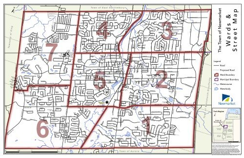 Ward Map Town Of Newmarket