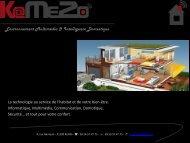 La Domotique : Un art de vivre - Kamezo