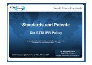 World Class Standards - GRUR