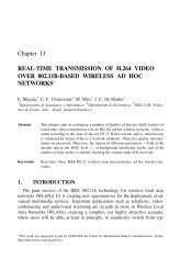real-time transmission of h.264 video over 802.11b ... - BeKnowledge