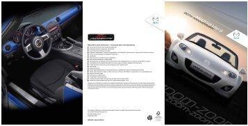 Mazda MX-5 Anniversary Broschüre herunterladen